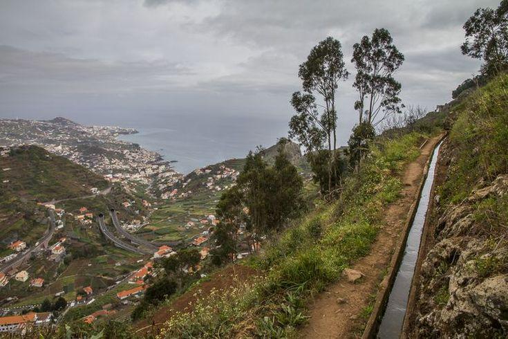 The volcanic island of Madeira, Portugal Photographer: Steve Gledhill