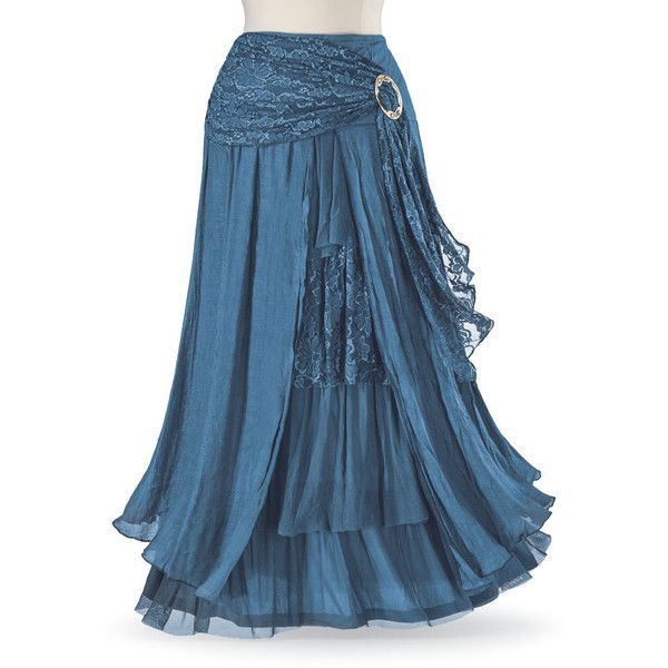 Forget-Me-Not Turquoise Skirt ($100) ❤️ liked on Polyvore featuring skirts, bohemian skirts, turquoise skirt, bohemian style skirts, goth skirt and steam punk skirt