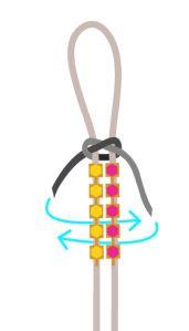 Rhinestone cup chain suede lace bracelet tutorial