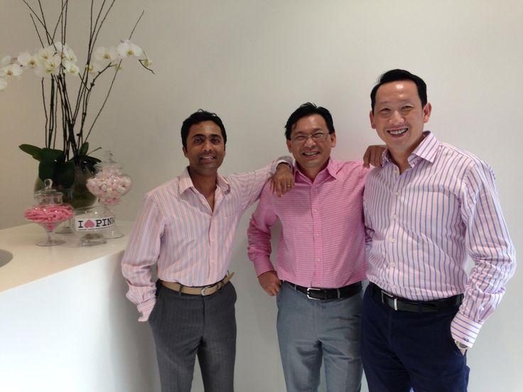 L-R: Dr Niro, Dr Duong, Dr Tang