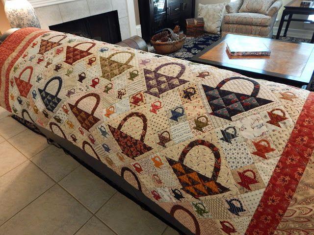 53 best quilts - Baskets images on Pinterest | Indigo, Quilt ... : quilting basket - Adamdwight.com