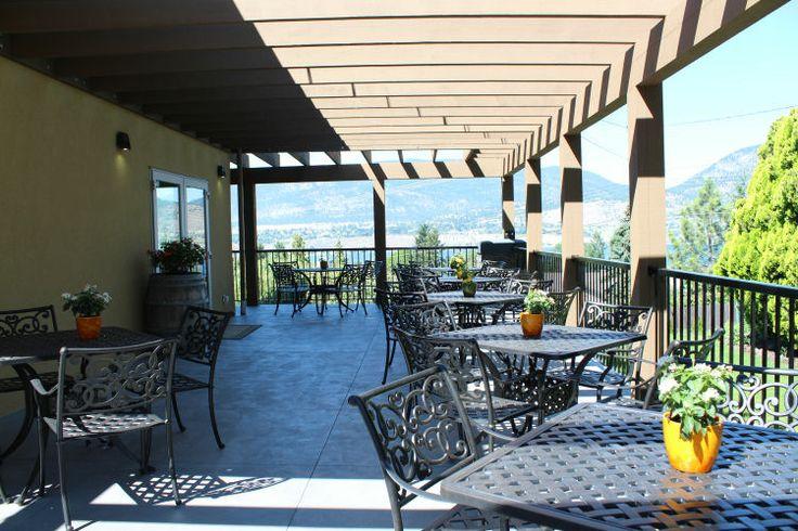 Perseus Winery Deck at www.girouxdesigngroup.com