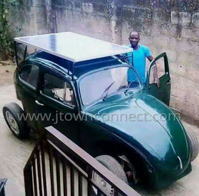 Welcome, It´s Silver Tuke Blog:: Wow See A Solar Car Made By An OAU Student: