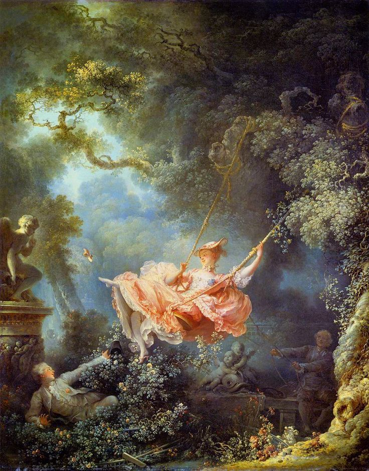 The Happy Accidents of the Swing  Jean-Honoré Fragonard c1767-1768   Wallace Collection London