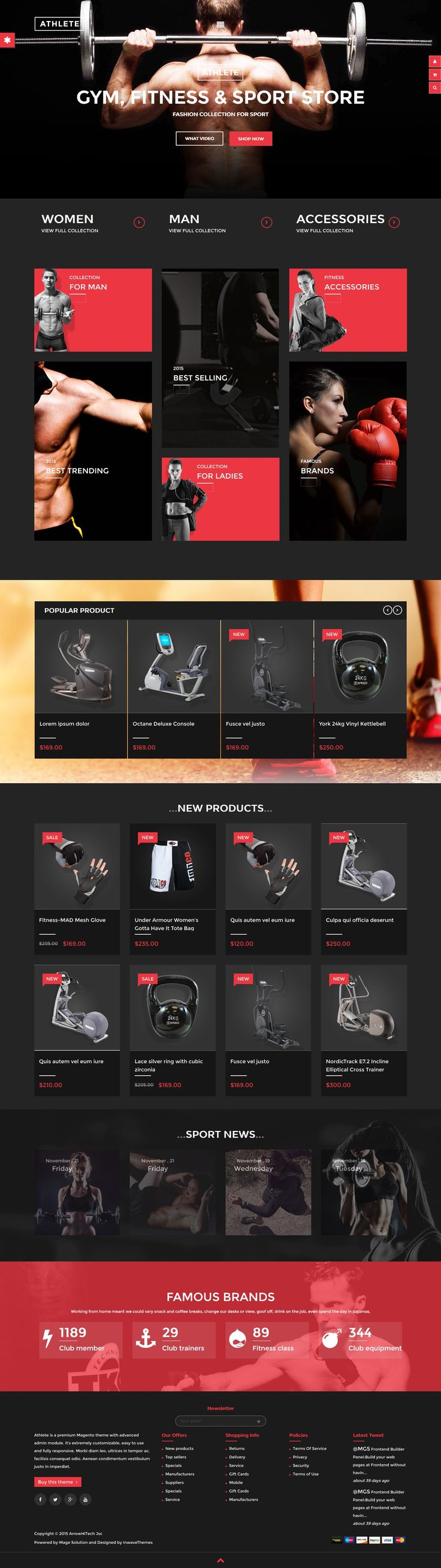 33 New Awesomely #Design Premium Themes of 24 March 2015 #website #inspiration