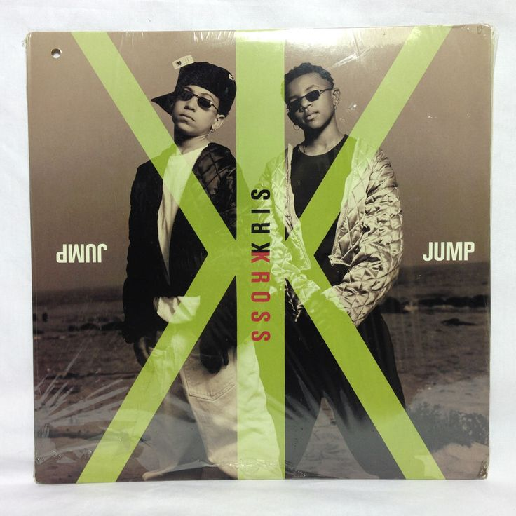 """Kris Kross Jump SEALED Vinyl Record 1992 12"""" Single ORIGINAL RAP OOP"""