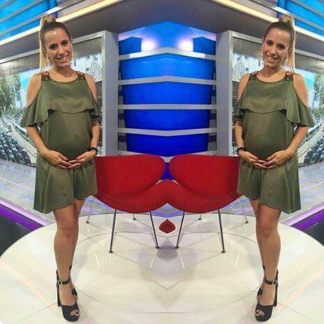 #11a14 por @cronicatelevision #informando @sofiamonachelli #babyonboard #look @mumbai555 #zapatos @shoesmilana #diosa #embarazada #feliz