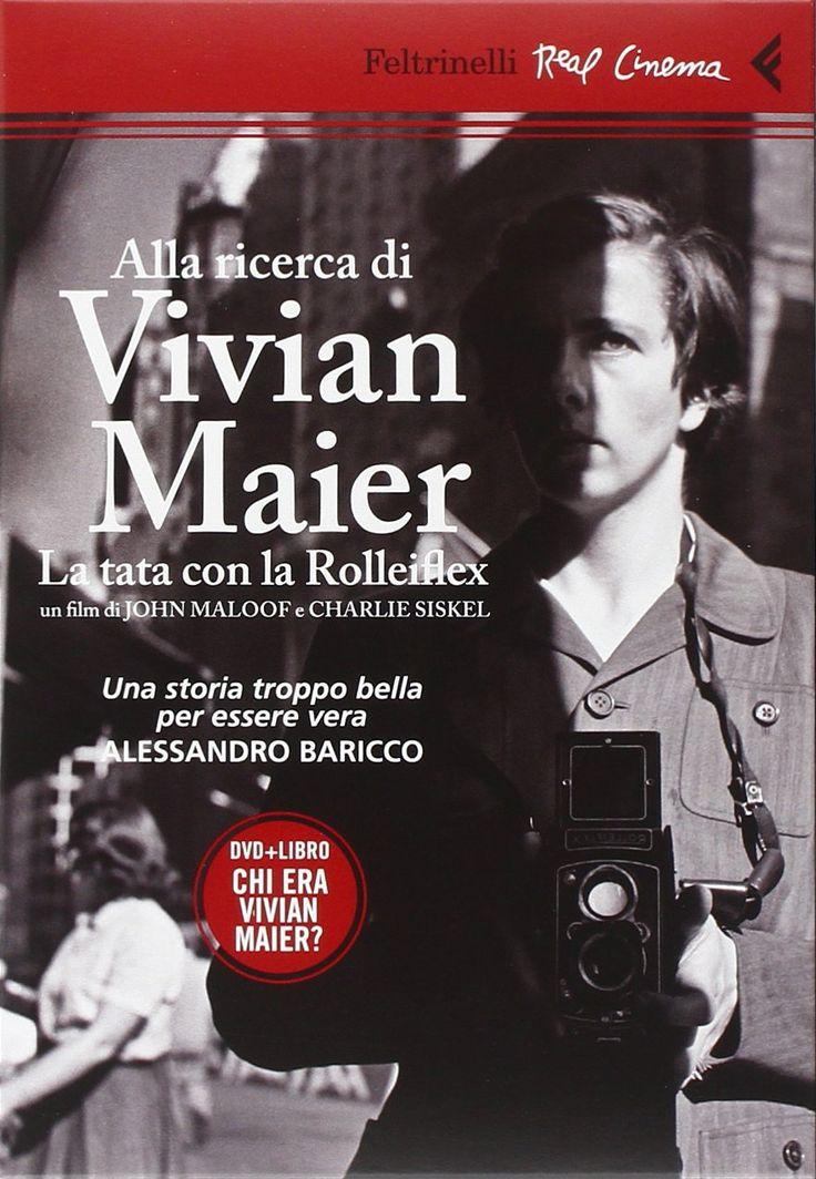 Amazon.it: Alla ricerca di Vivian Maier. La tata con la Rolleiflex. DVD. Con libro - John Maloof, Charlie Siskel - Libri