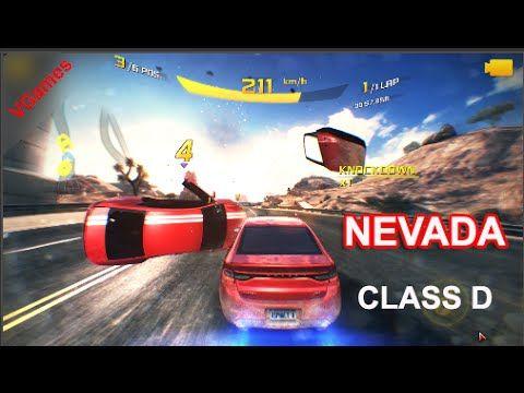 Asphalt Airborne 8 Class D Nevada 1 ST | Nevada Asphalt 8 best route | V...