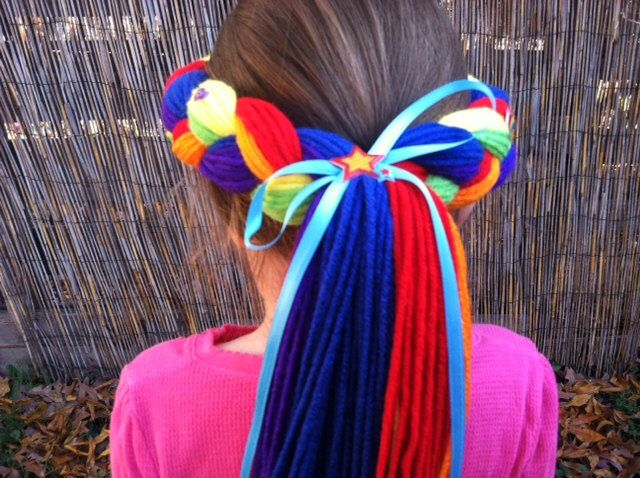 My Little Pony, Rainbow Dash, Rainbow Brite, My Little Pony Party, Rainbow Dash Costume, Kids Costume, Little Pony Costume, Rainbow Bright by PoshPrincessBraids on Etsy https://www.etsy.com/listing/256424642/my-little-pony-rainbow-dash-rainbow