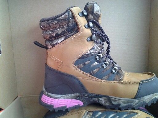 Bushnell boots from Dunhams sporting goods store $95