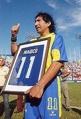 'Mágico' González, la estrella que no fue