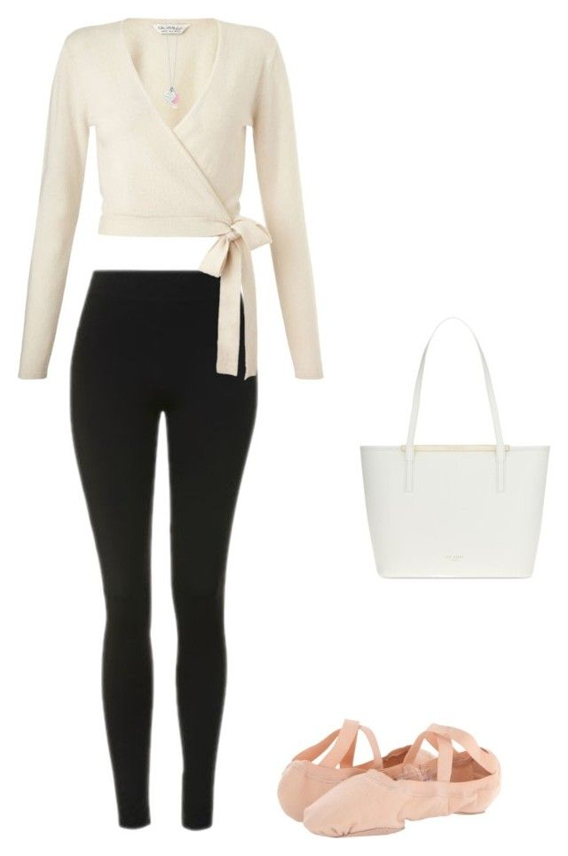 """Ballet outfit"" by angelsommer on Polyvore featuring Topshop, Miss Selfridge, Ted Baker and Bloch"