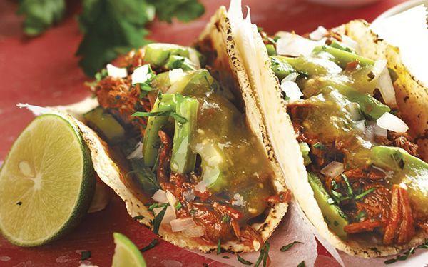 Relacionadas Burritos de chilorio Pavo ahumado Piña asada al tequila Fajitas de carne de res en salsa verde: cómo hacer... Nachos con carne al pastor Lomo de cerdo mechado con salsa de ciruela picosa