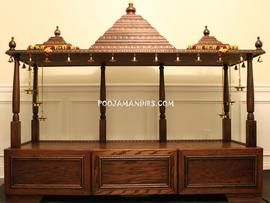 Pooja Mandirs USA - Dhanishta Collection