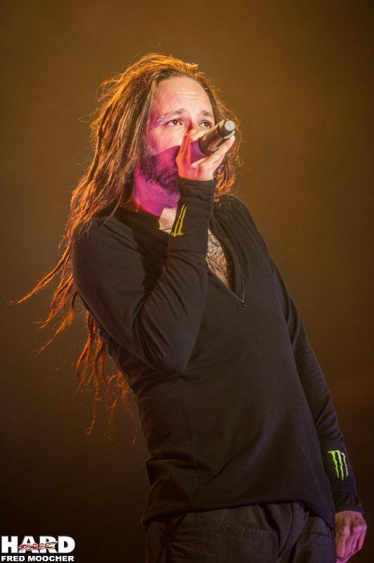 Jonathan Davis, Korn - Hellfest 2013 by Fred Moocher