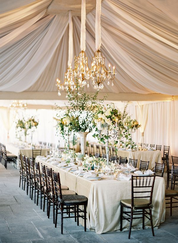 wedding reception idea; photo: Jose Villa