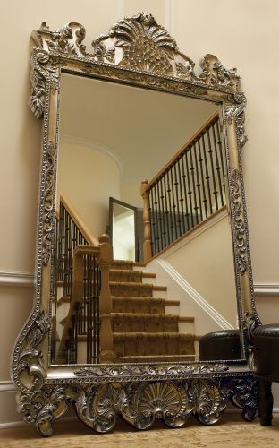 large oversized mirror with ornate frame - Google Search
