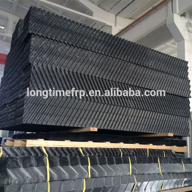 1200 300m Pvc Cooling Tower Fill Blocks 15mm Pvc Filler Cooling Tower Tower Pvc