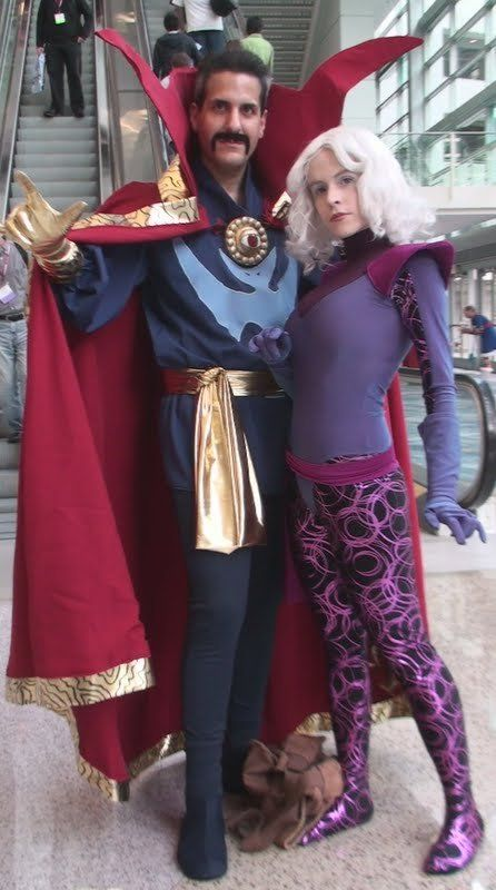 Best Cosplays of Couple: Doctor Strange and Clea by trivto ...