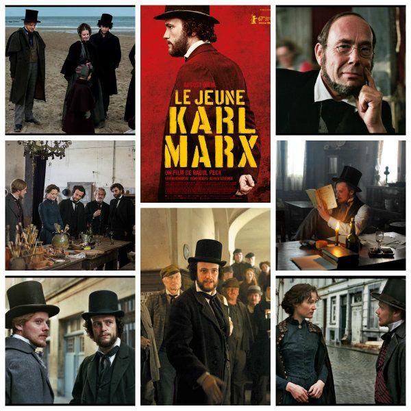Dans l'image collective, Marx s'incarne comme un vieux barbu, philosophe, révolutionnaire, le père du communisme. Le jeune Karl Marx, biopic non convention