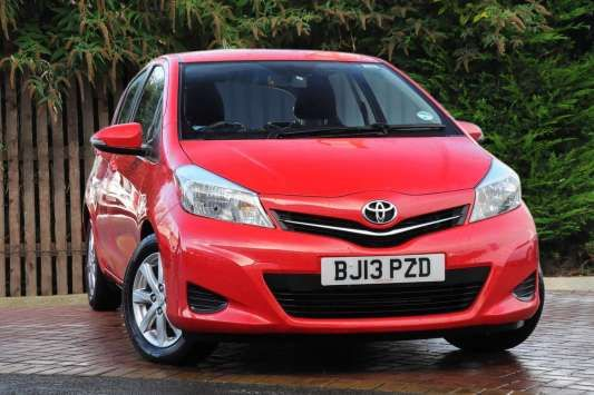 Used 2013 (13 reg) Chilli Red Toyota Yaris 1.33 VVT-i TR 5dr for sale on RAC Cars Check This Awsome Car for Sale out! Car is lowered on 18s but comes with stock rims and a brand new tire. It has dark tinted windows .Also comes with a new aftermarket passenger fender. Car is parked on Pacific ave in Tacoma next to the gas station on the corner of 64th and Pacific. If after seeing it you are interested get ahold of me for a test drive. Cash takes it home today 1900 OBO. Clean title.