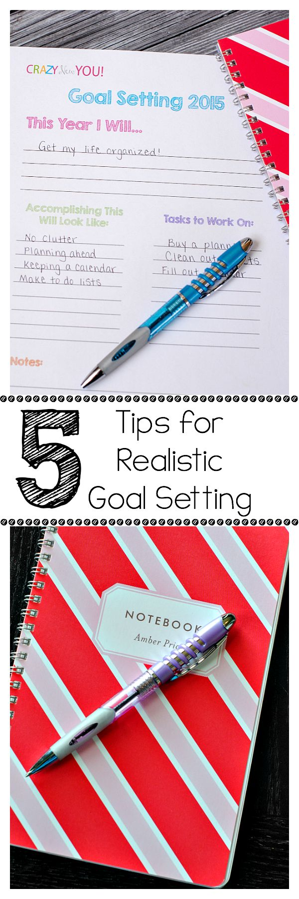 Tips for Setting & Actually Accomplishing Your Goals This Year + Free Printables