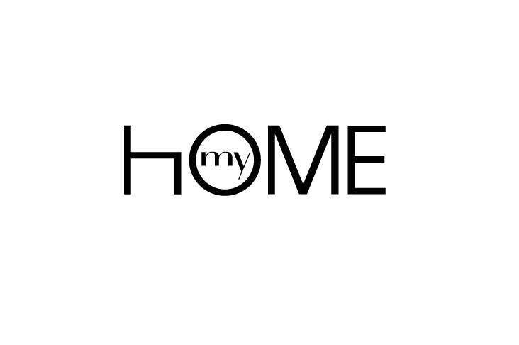 """brand for """"my home"""" editorial project"""