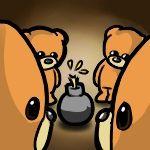 Dud bomb, bears couldbeworse-comic.com