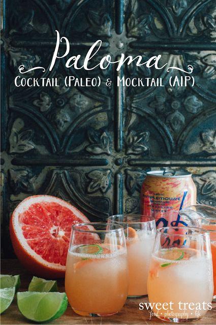 Paloma Cocktail & Mocktail (Paleo & AIP)