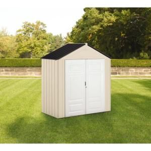 Rubbermaid Big Max Junior 3.5 ft. x 7 ft. Storage Shed 1862549 at The Home Depot - Mobile