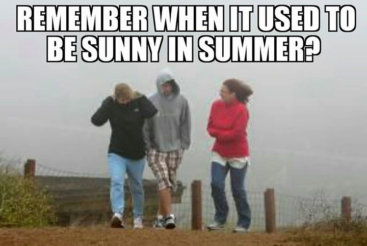 Anyone else sick of the rubbish weather?