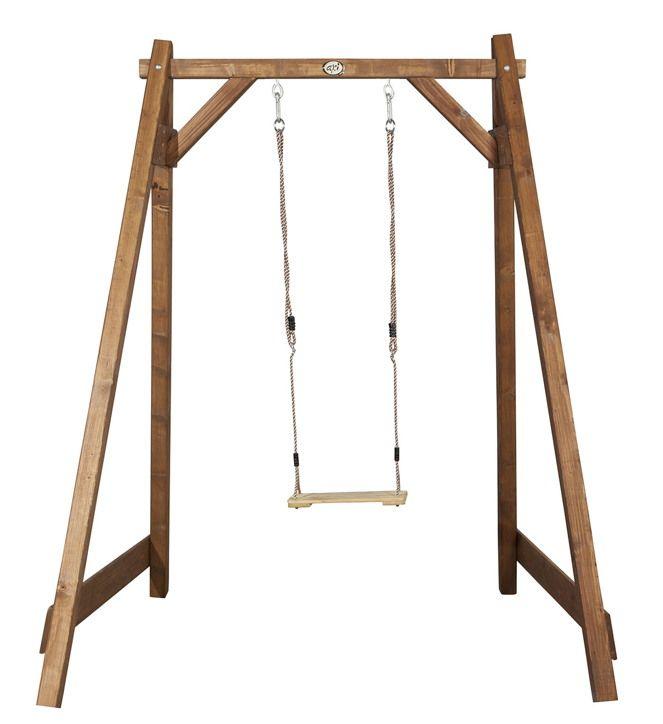 Holz-Kinder-Schaukel Axi «Einzelschaukel» Schaukel aus Holz | Kinderspielgeräte für den Garten