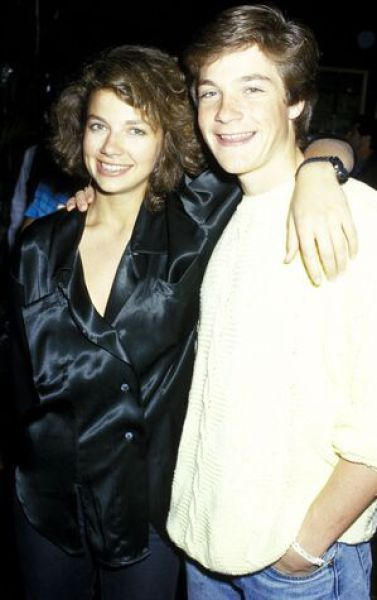 Jason Bateman and his older sister Justine