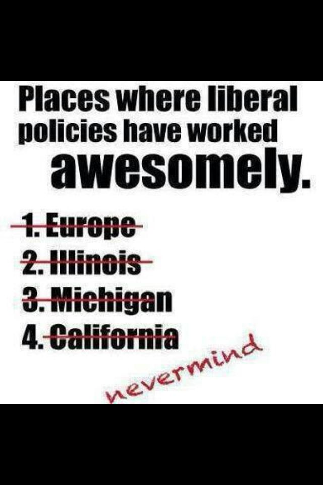"""Liberal Socialism works (for a very short time) when most of the people are basically similar (Sweden, Denmark), and there are no great differences in education and culture. In America, we pride ourselves on our diversity and our """"melting pot"""" citizenry, but our offer of freedom and individualism automatically excludes the ideal of """"one fits all"""" Socialism. Even homogeneous Europe can't sustain this system when the 3rd world is invading. Socialism is an inherently exclusive and RACIST…"""
