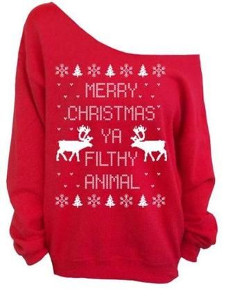 I actually love this Ugly Christmas sweater :)