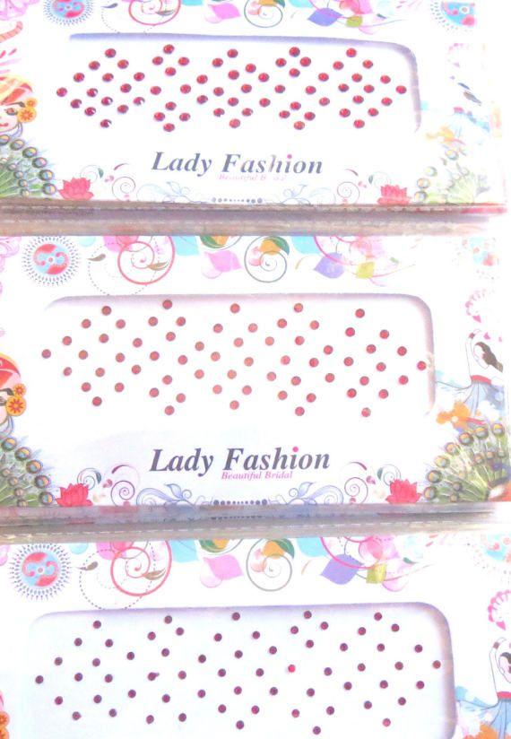 On sale Red 64 Designer Bollywood bridal by CraftyJaipur on Etsy