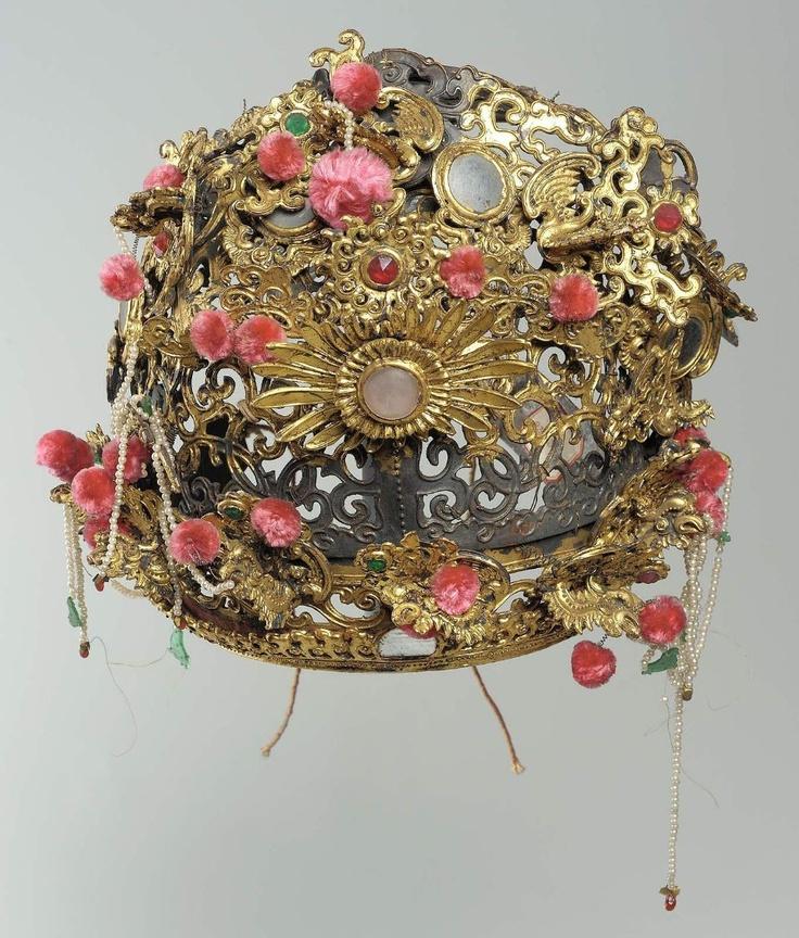 Head-dress, Qing dynasty, 19th century         China