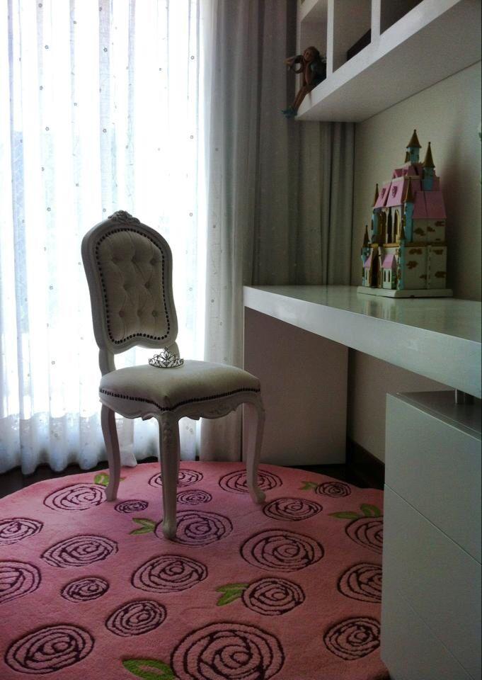 Alfombra diseño rosas