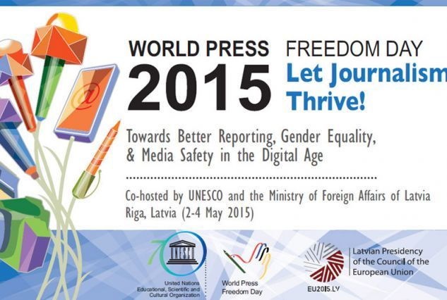 #World #Press #Freedom #Day 2015 marks worst level of freedom in a decade