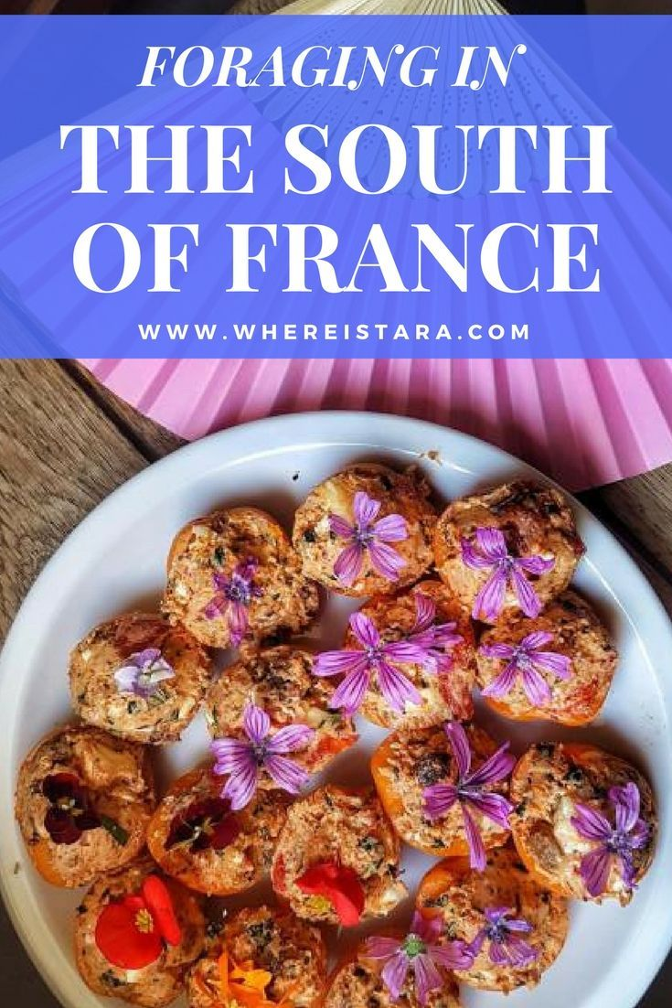 During my trip to the Vaucluse region of Provence in the South of France I spend a day foraging for wild flowers and edible plants to create an incredible vegetarian meal. Click the link to read more.