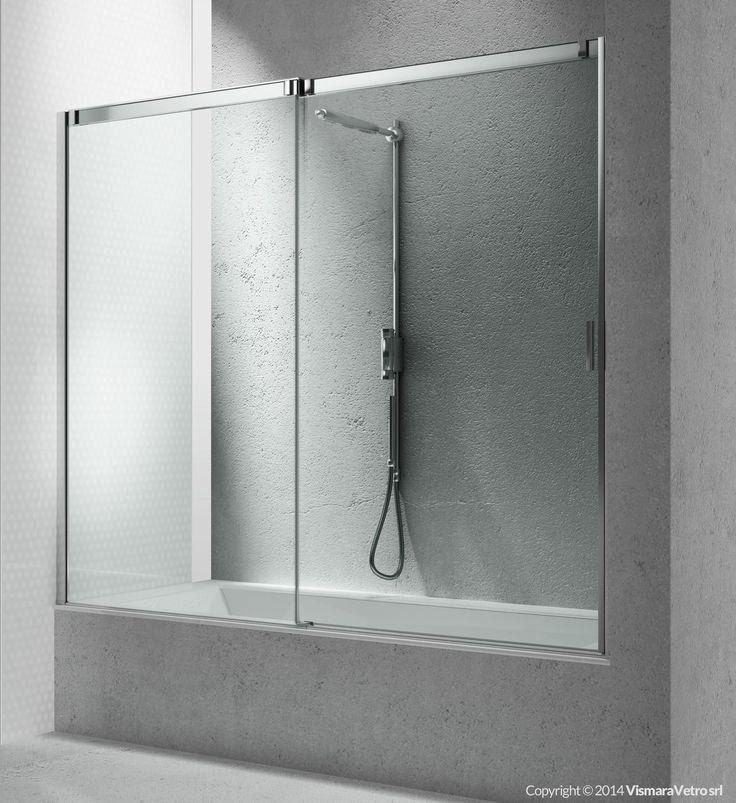 Oltre 25 fantastiche idee su vasca da bagno doccia su - Vasca doccia da bagno ...
