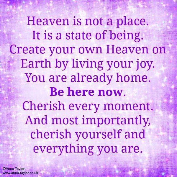Cherish life quote via www.Anna-Taylor.co.uk and www.Facebook.com/AnnaTaylorMusicAngel