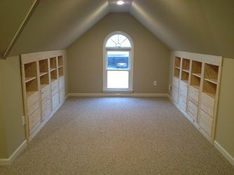 CG Woodwork. Finish attic, built-ins.