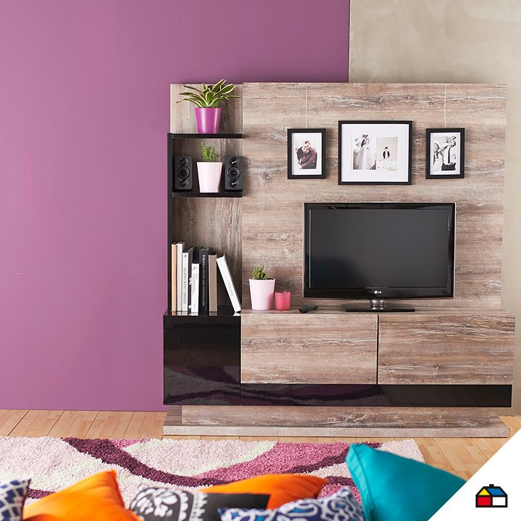 11 best llena de color tu hogar images on pinterest for Decoracion hogar sodimac