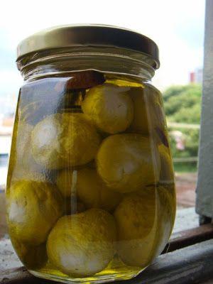 come-se: Bolinhas de kefir no azeite
