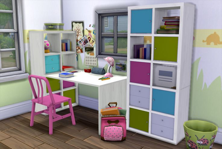 Aroundthesims around the sims 4 ikea expedit kallax for Ikea expedit 2 x 1