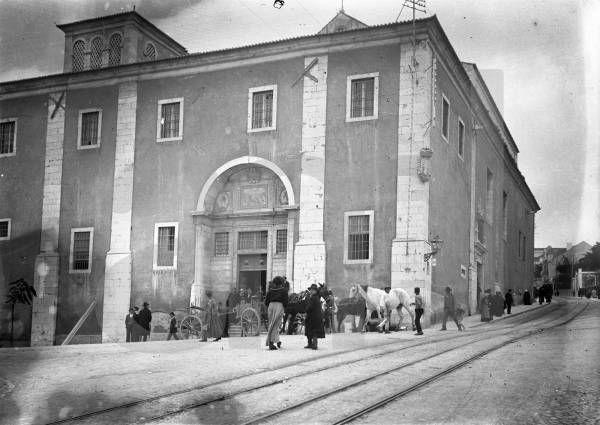Calçada da Estrela cerca 1910 (Foto: Joshua Benoliel, Arquivo Municipal de Lisboa)