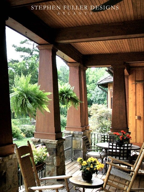231 best images about adorable craftsman on pinterest for Craftsman porch