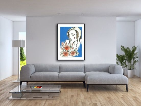 paintings for office walls. Add Some Colourful Beauty To Your Office Walls With Artwork By Sally Teixeira. Available As Paintings For R
